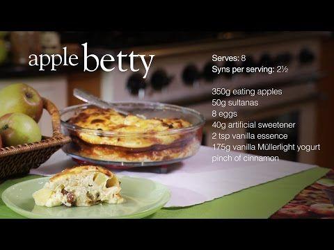 Apple betty - Recipes - Slimming World