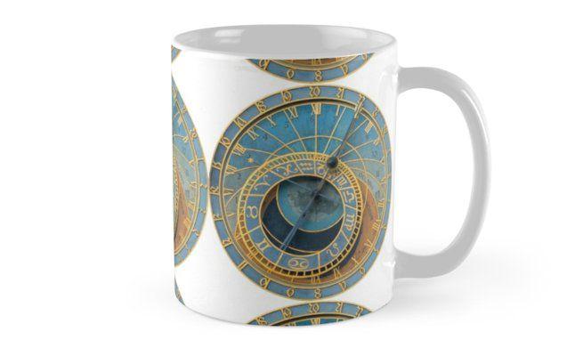 Stunning Medieval Astronomical Clock Or Praha Orloj In Prague Praha Professional Photo Mug By Picturestation Prague Photos Mugs Professional Photo