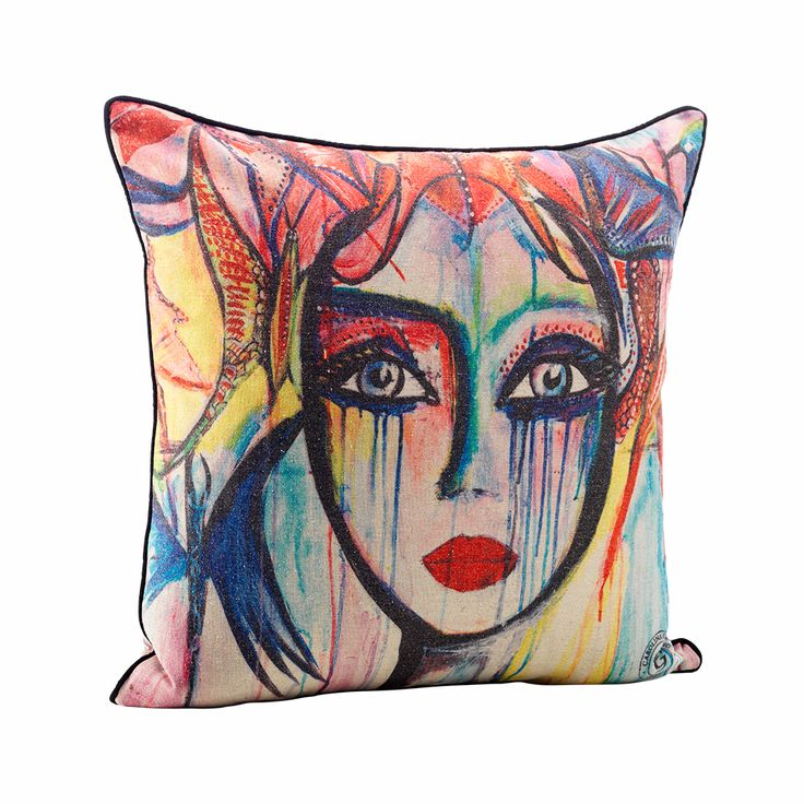 Slice Of Life Cushion Cover - Carolina Gynning $82 | Earn Cashback when you shop at RoyalDesign.com! Sign up with DubLi for FREE at www.downrightdeallz.net and GET PAID for all your online shopping!