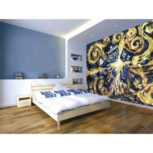Doctor Who Wallpaper Mural   Tardis Interior For The Master Bedroom Part 40