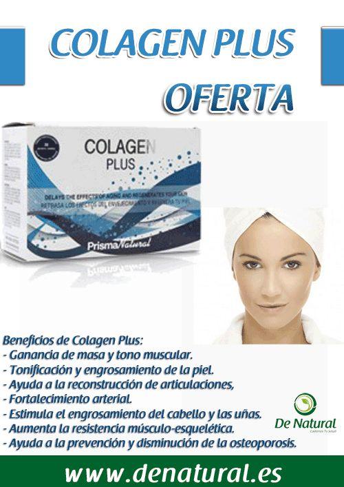 Colagen plus http://www.denatural.es/huesos-y-articulaciones/colagen-plus-anti-agin-30-sobres-