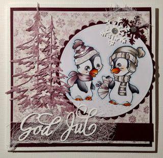 Kirstens Hobbyblogg: Årets første julekort...
