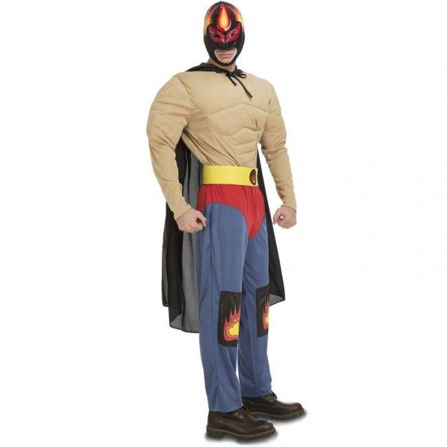 Disfraz Luchador Mexicano Rey Mysterio #disfraces #carnaval #novedades2017
