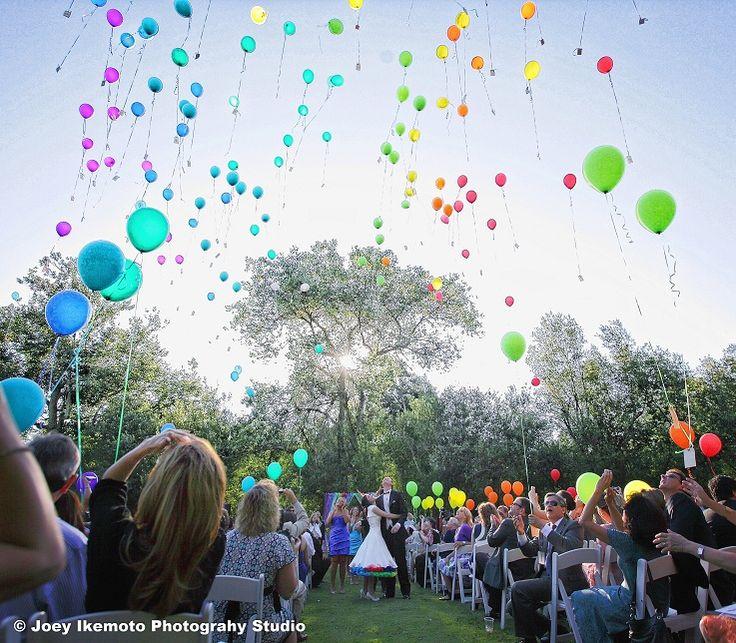Lisa and Robert's Rainbow Robot Carnival Wedding | Rebel Belle Weddings