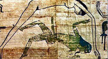 Die ägyptische Göttin des Himmels