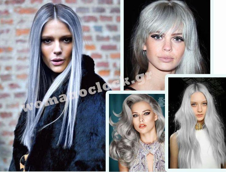 Silver Χρώμα Μαλλιών: το νέο Trend Άνοιξη Καλοκαίρι 2015   Woman Oclock