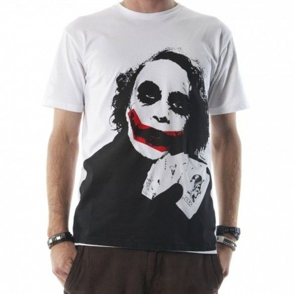 Why so serious? 15 awesome t-shirts with... The Joker - fancy-tshirts.com