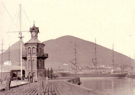Klokketoren Kaapstad Waterfront