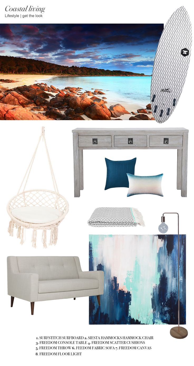 Coastal living 'get the look'