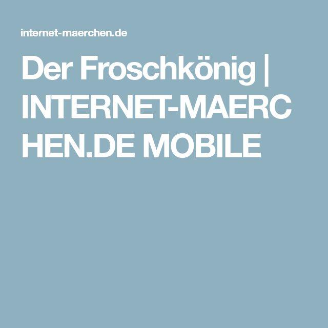 der froschkönig  internetmaerchende mobile
