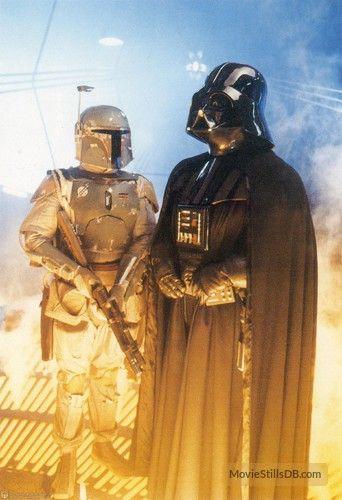 Star Wars: Episode V - The Empire Strikes Back publicity still of David Prowse & Jeremy Bulloch