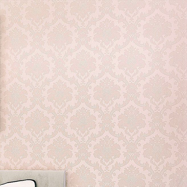 home decor Bedroom background wall wallpaper damask PVC ...