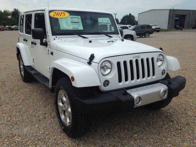 super slick white jeep 2015 paragould arkansas new used cars for sale pinterest white. Black Bedroom Furniture Sets. Home Design Ideas