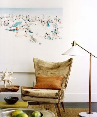 What a boho chic fabulous chair! Lovin' boho minimalist style.