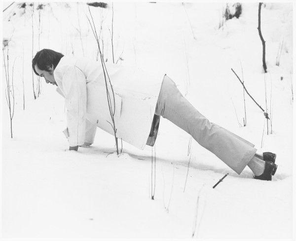 Bílý žebrák – cyklus | fotografie | 97 x 78 cm | 1993