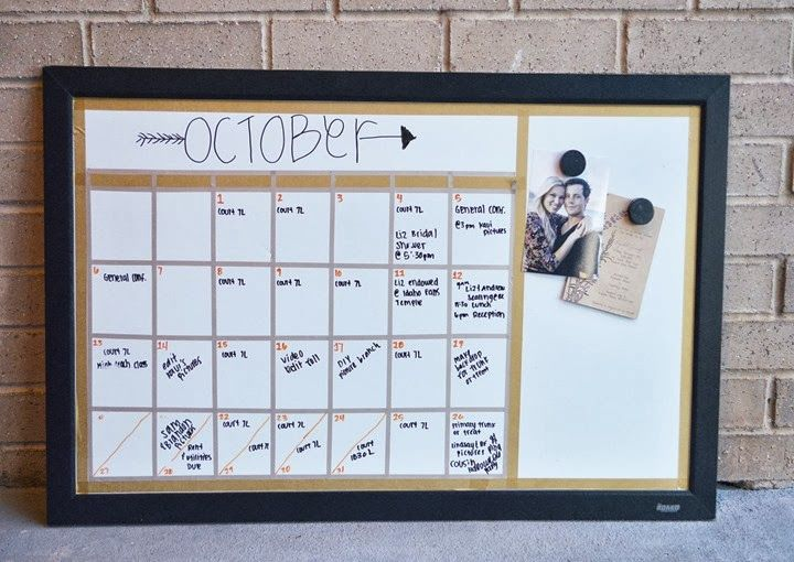 Calendar Whiteboard Ideas : Best ideas about diy whiteboard on pinterest dry