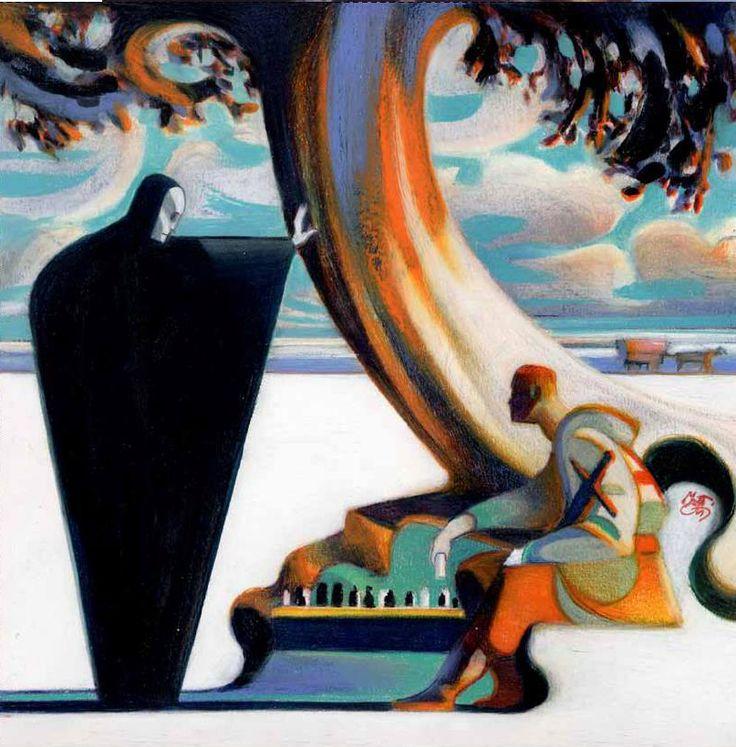 Lorenzo Mattotti ~ The Seventh Seal - L'iconoclaste