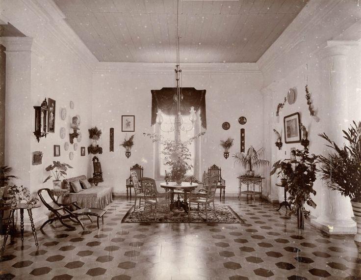 Europese woning, ca 1900