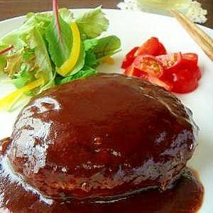 【その9】:シェフ直伝♪洋食屋さんのハンバーグ