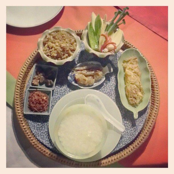 ข้าวแช่ชาววัง #thai #traditional #authentic #food