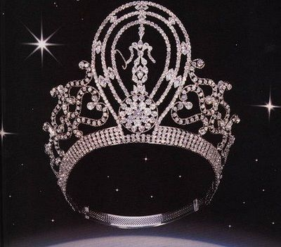 miss universe 2007 crown | Tiara Girls: Miss Universe and Miss World Crown: Look A Like