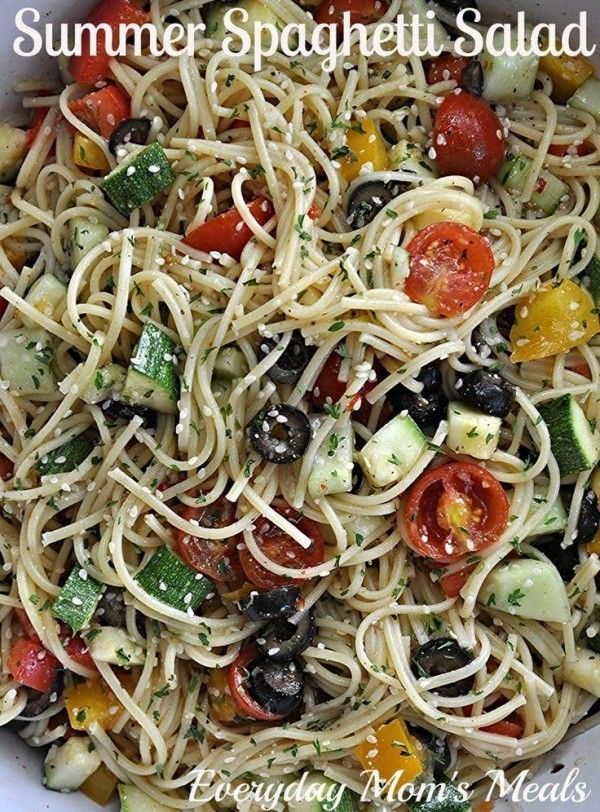 Hello again! Krista from Everyday Mom's Meals here with another yummy recipe to share with all of you Happy Homemaker Fans! I love pasta salad. Especially in the summer time. But I also love pasta salads that are filling enough to eat like a meal. See, as much as we L.O.V.E summer and hot weather, sometimes when...  {read more}