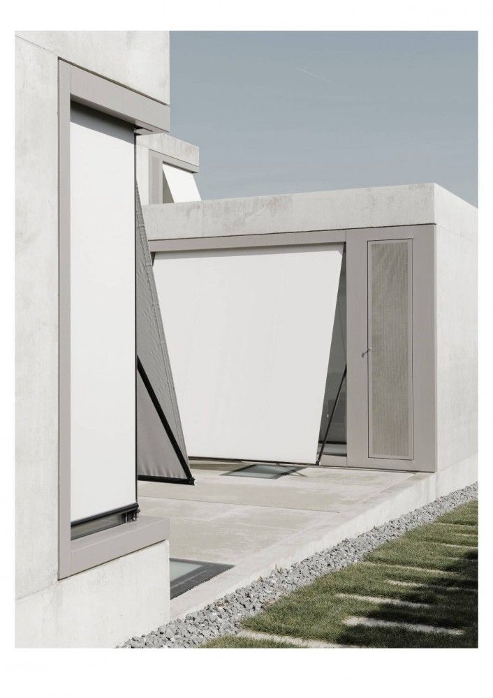 Exemple des stores et de traitements de tableau Villa M / Niklaus Graber + Christoph Steiger Architekten