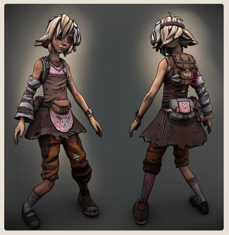 Tiny Tina by DrySockett.deviantart.com on @deviantART