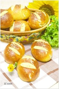 Фото к рецепту: Французская классика -булочки Морисет