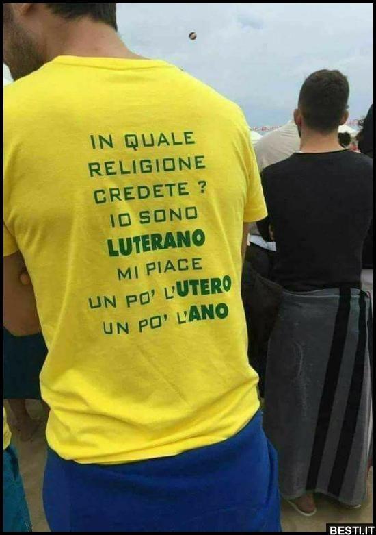 Io sono luterano