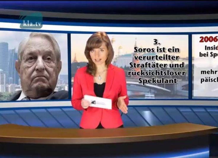 Niemiecka Telewizja demaskuje zbrodniczą działalność Georga Sorosa