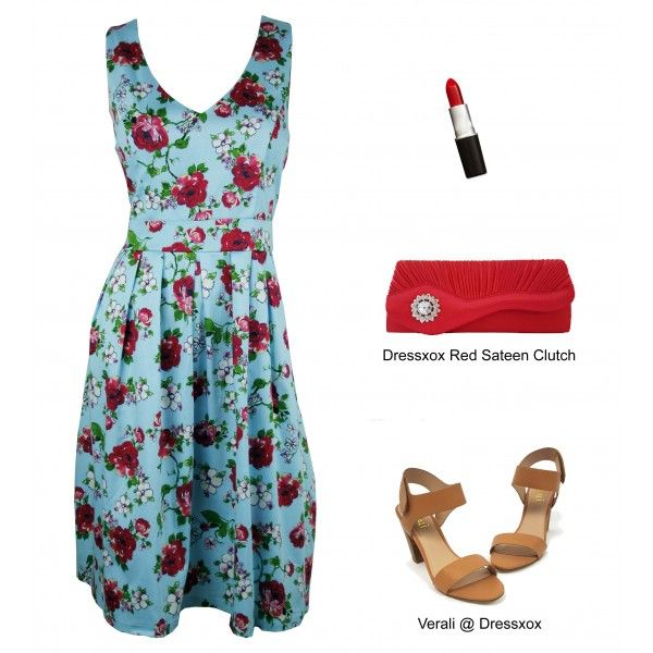 Sanio Floral Party Dress