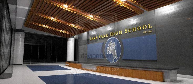 School Entrances Lobby Design
