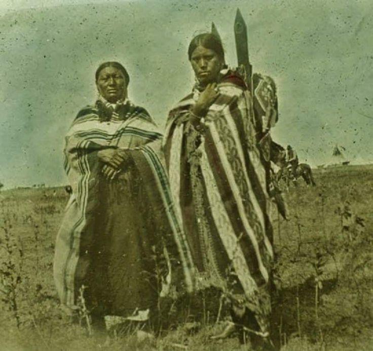 Женщины кайова. 1890