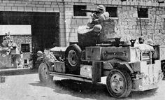 RAF Fordson Armoured Cars in Iraq, May 1941 - Following Iraqi independence in 1932 Britain enjoyed good relations with the Hashemite monarchy. Under the Anglo-Iraqi Treaty Britain maintained substantial RAF bases in the country. These were staging posts on the route to India but also provided some security to British petroleum interests in the country. A coup d'etat at the beginning of April brought the anti-British Rashid Ali to power. Pin by Paolo Marzioli