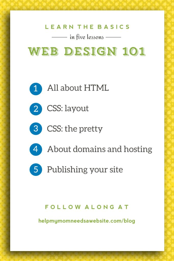 Why learn the basics when there are so many point-and-click options out there? You'd be amazed at how often a little knowledge of html and css will help you, whether you're using WordPress, formatting a newsletter, or customizing an out-of-the-box template for your online store. The more you know about the foundation all of these tools rely on, the more control you'll have.