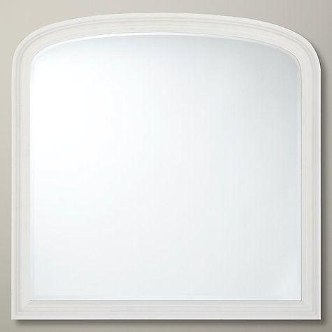 Buy John Lewis Croft Collection Overmantel Mirror, 94 x 90cm Online at johnlewis.com