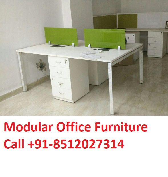 Modular Office Workstations Chair Table Furniture Design