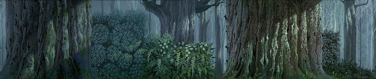 Disney's Sleeping Beauty Animation Backgrounds