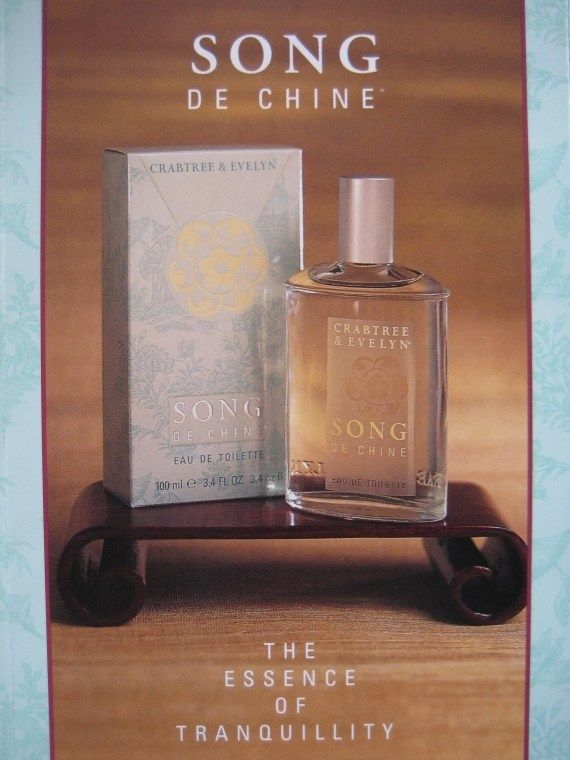 Song de Chine by Crabtree & Evelyn, print ad