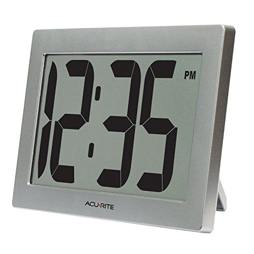 AcuRite 75102 95 Large Digital Clock with 375 Digits and IntelliTime Technology *** You can find more details by visiting the image link.