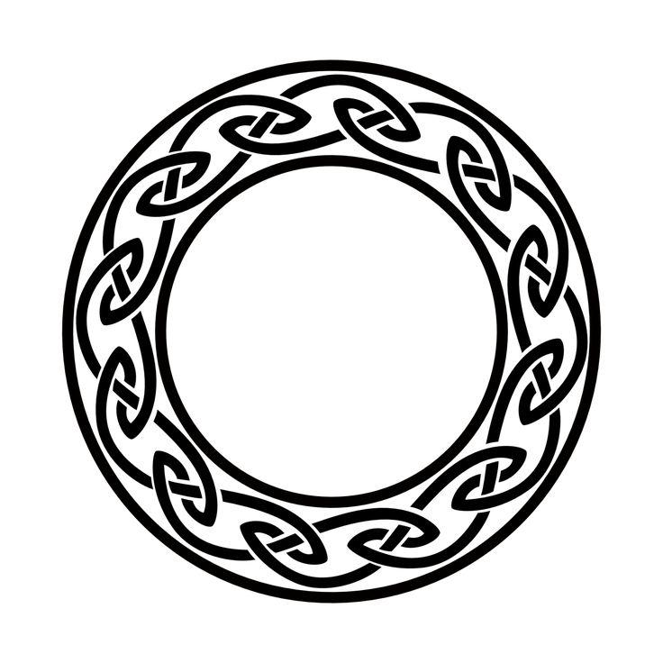 Infinity symbol celtic images for Circular symbols tattoos