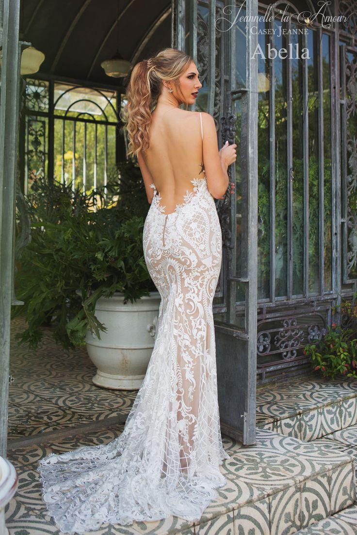 Abella wedding gown for Jeannelle la Amour by Casey Jeanne <3 www.caseyjeanne.com https://www.facebook.com/JeannellelaAmour  https://www.facebook.com/CaseyJeanneAtelier