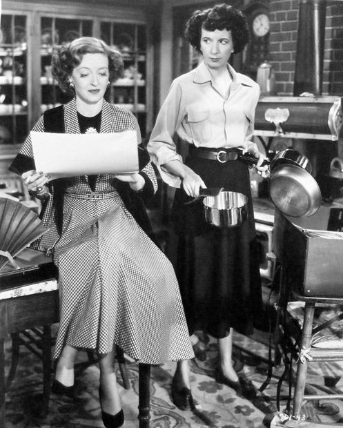 Mary Wickes with Bette Davis   June Bride