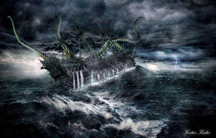 Ghost Ship Battle by ksilas on DeviantArt