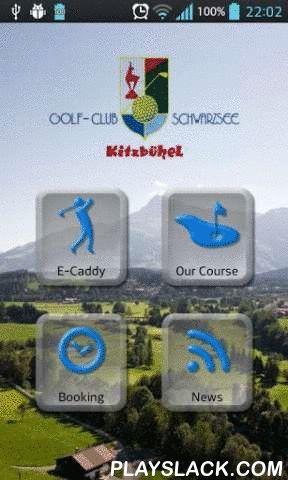 """Golfclub Schwarzsee  Android App - playslack.com , Von Bergen umrahmt Bereiten Sie sich auf einen ausgiebigen und vor allem lohnenden Course vor. Ein einzigartiges Panorama und Fairways, die Golferherzen höher schlagen lassen. 2003 war der Golfplatz Kitzbühel-Schwarzsee-Reith erstmals Veranstaltungsort der """"Golf European Challenge Tour"""".Los geht's mit einem fast 500 m langen, selektiven Eröffnungsloch. Anschließend folgt das schwierigste Loch des Platzes: Par 4, 414 m. Beeindrucken"""