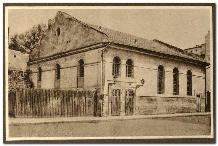 Kupa Synagogue, Warszauera Street; photo from the collection of the Żyd. Akademickie Koło Miłośników Krajoznawstwa Słuchaczy UJ in Kraków, 1935