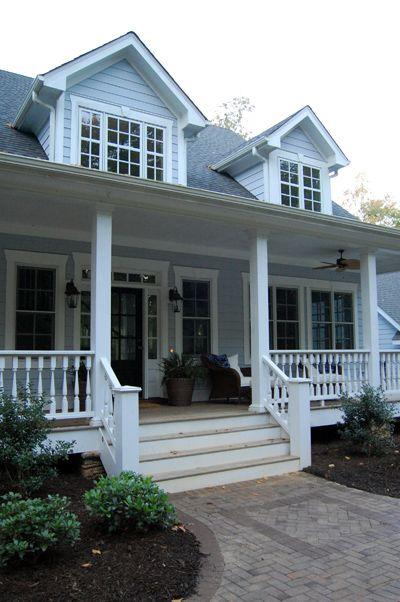 1000 images about farmhouse porches on pinterest for Farmhouse builders