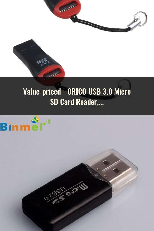 USB 2.0 to 3.0 Adapter Hub XQD2.0 SD-Card Card Reader with Standard USB Male USA