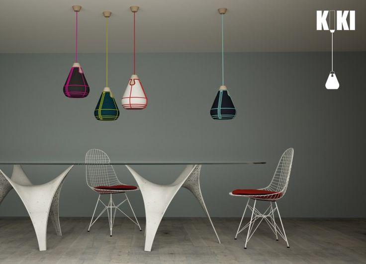 Formabilio - Kiki lampada a sospensione / progetto inviato da Alpestudio. Ti piace? VOTA L'IDEA QUI https://it.formabilio.com/progetto-concorso/kiki-13490